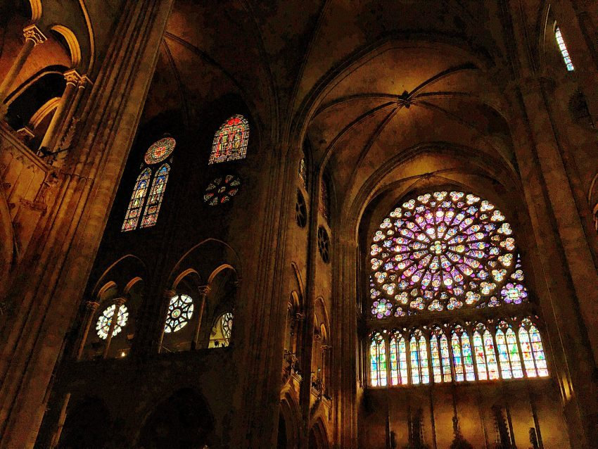 rose window paris