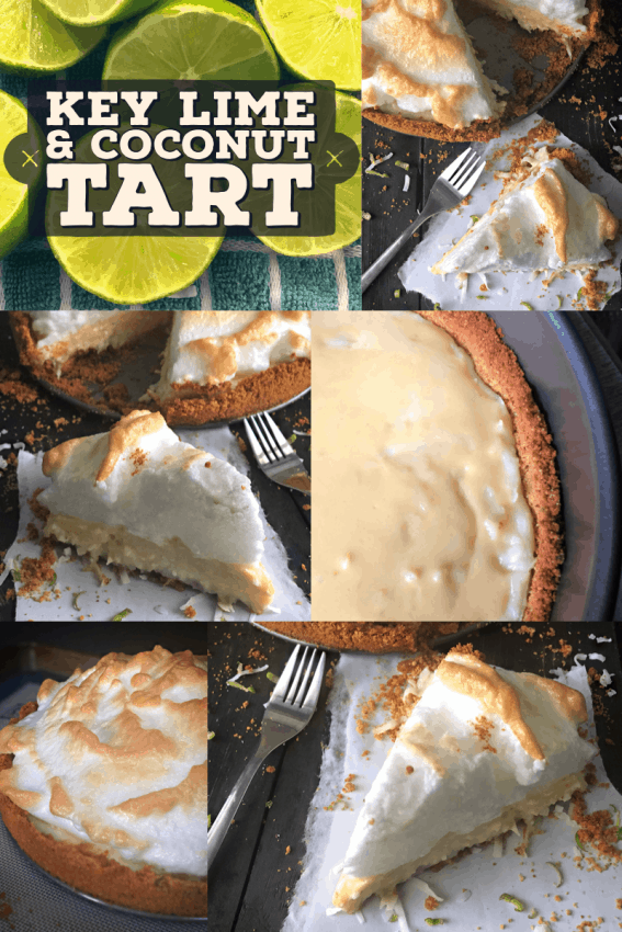 key lime pie collage