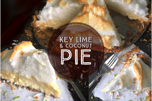 Key Lime and Coconut Pie for #SummerDessertWeek