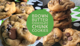 header chocolate chunk cookies