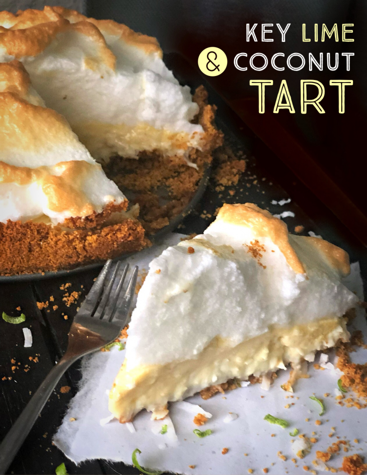 Key Lime and Coconut Pie