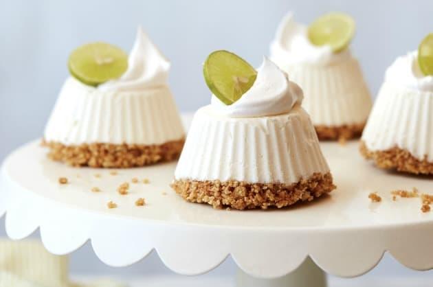 Mascarpone Key Lime Mini Pies