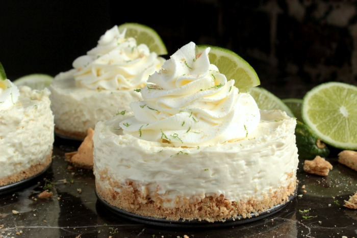 Mini No Bake Key Lime Pie Cheesecakes