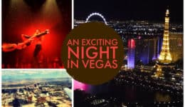 An Exciting Night in Las Vegas