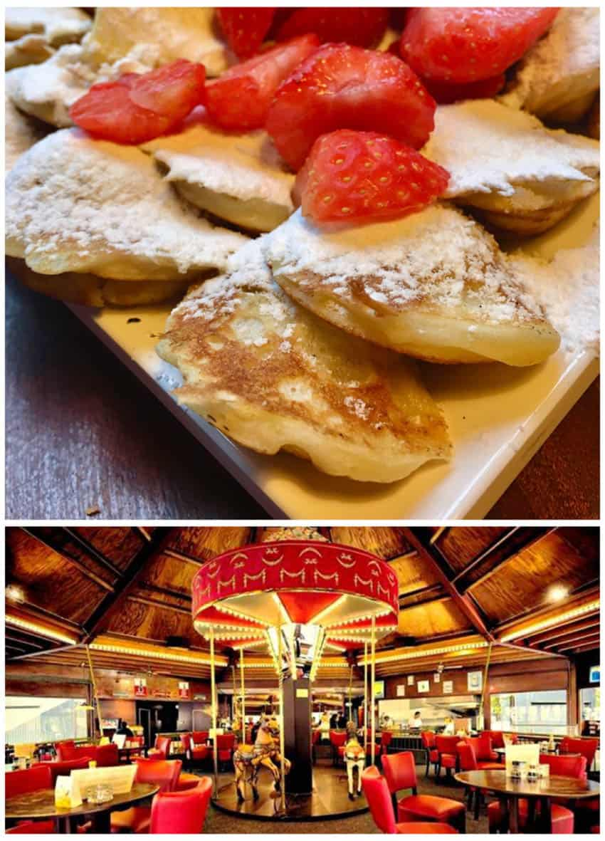 Poffertjes at De Carrousel Amsterdam